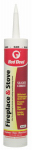 Red Devil 0466 Fireplace/Stove Repair Sealant, Black, 10.1-oz.