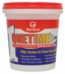 Red Devil 0548 Onetime Lightweight Spackling, 1-Pt.