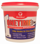Red Devil 0544 Onetime 1-Qt. Lightweight Spackling