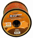 Arnold WLM-395 Maxi Edge Serrated Trimmer Line Spool, Orange, .095-In. x 819-Ft., 40 Refills