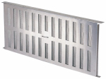 Air Vent FA109000 Aluminum Foundation Vent With Slider, 16-15/16 x 8-In.