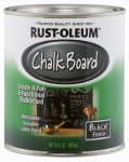 Rust-Oleum 206540 Qt. Black Chalkboard Brush On Latex Paint