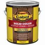 Cabot/Valspar 1801-07 1-Gallon White Base Exterior Decking Stain