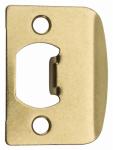 Kwikset 3437 01 3 CP Brass Standard Lock Strike