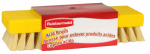 Rubbermaid X171-06 Acid Brush, White Tampico & Plastic,  8-In.