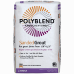 Custom Bldg Products PBG1125 25-Lb. Snow White Sanded Polyblend Grout