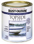 Rust-Oleum 206999 Marine Coatings Topside Paint, Gloss White, 1-Qt.