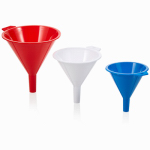 Arrow Plastic Mfg 123 Assorted Color 16-oz. Kitchen Funnel
