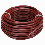 Raindrip R251DT Drip Watering Tubing, Redwood Vinyl, 1/4-In. x 50-Ft.