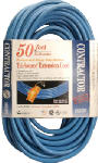 Southwire/Coleman Cable 03268-06 50-Ft. 14/3 SJTW High Visibility Blue Power Block