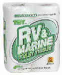 Camco Mfg 40276 TST RV & Marine Toilet Tissue, 4-Pk.