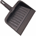 Rubbermaid Comm Prod 2006-28-CHAR Heavy Duty Dust Pan, Charcoal, Commercial Grade, 8.125 x 12.25 x 13.25-In.