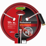 Teknor-Apex 8695-50 5/8-Inch x 50-Ft. Red Industrial Hot Water Rubber Hose