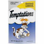 Mars Petcare Us 08541 Temptations Cat Treats, Hairball Control, 2.1-oz.