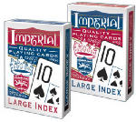 Playmonster 1451 Imperial Poker Playing Cards, Large Index