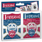 Playmonster 1452 Imperial Poker Playing Cards, 2-Pack