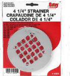 Oatey 42005 4-1/4-Inch Stainless-Steel Replacement Strainer Cover