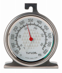 Taylor Precision Products 3506 TruTemp Oven Thermometer, Stainless Steel, 2-1/4-In.