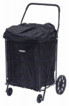 Narita Trading CLH127BK Black Shopping Cart Carry Liner With Hood