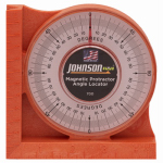 Johnson Level & Tool 700 Orange Magnetic Angle Locator