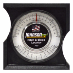 Johnson Level & Tool 750 High-Impact Black Pitch & Slope Locator