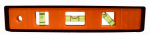 Johnson Level & Tool 7500B-ORANGE 9-Inch Orange Cast Torpedo Level