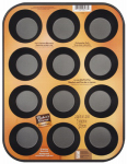 World Kitchen 1114366 Non-Stick Muffin Pan, 12-Cup