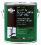 Gardner-Gibson 6125-9-34 Fibered Roof Coating, 3.6-Qt., Must Purchase in Quantities of 6