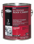 Gardner-Gibson 6230-9-34 All-Weather Roof Cement, 3.6-Qt., Must Purchase in Quantities of 6