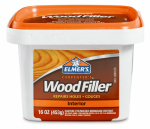 Elmer's Product E849D8 Wood Filler, Indoor, 1-Pt.