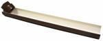 Genova Products RB250 Downspout Extension, Brown Vinyl
