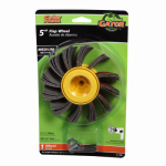 Ali Industries 7001 5-In. Medium-Grit Paint Stripper Sanding Wheel