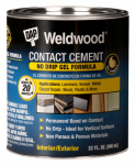 Dap 25312 1-Quart Weldwood Contact Cement Gel