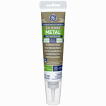 Momentive Perform Material GE285 Silicone II Metal Glue/Sealant, Gray, 2.8-oz.