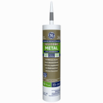 Momentive Perform Material GE5050 Silicone II Metal-Metallic Gray Sealant, Gray, 10.1-oz.