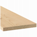 Alexandria Moulding 0Q1X8-70048C Common Wood Board, 1 x 8-In. x 4-Ft.