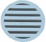 "Genova Products S49230 3"" DWV Floor Strainer"