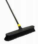 Quickie Mfg 00594 Push Broom, Tampico Bristles, 24-In.