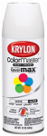 Krylon Diversified Brands K05150102 Colormaster Spray Paint, Indoor/Outdoor Use, Gloss White, 12-oz.