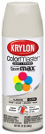 Krylon Diversified Brands K05150602 Colormaster Spray Paint, Indoor/Outdoor Use, Gloss Almond, 12-oz.