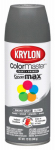 Krylon Diversified Brands K05160802 Colormaster Spray Paint, Indoor/Outdoor Use, Gloss Smoke Gray, 12-oz.
