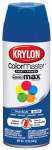Krylon Diversified Brands K05191002 Colormaster Spray Paint, Indoor/Outdoor Use, Gloss True Blue, 12-oz.