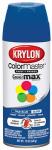 Krylon Diversified Brands K05191002 Colormaster Spray Paint, Indoor/Outdoor Use, Gloss True Blue, 12-oz.