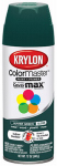 Krylon Diversified Brands K05200102 Colormaster Spray Paint, Indoor/Outdoor Use, Gloss Hunter Green, 12-oz.