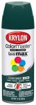 Krylon 2001 12 OZ Hunter Green Gloss Enamel Spray Paint