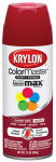 Krylon 2101 12 OZ Cherry Red Gloss Enamel Spray Paint