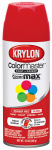 Krylon Diversified Brands K05210802 Colormaster Spray Paint, Indoor/Outdoor Use, Gloss Banner Red, 12-oz.