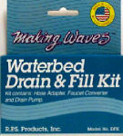 Rps Products DFK Waterbed Drain & Fill Kit