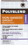 Custom Bldg Products PBG2210 10-Lb. Sahara Tan Non-Sanded Polyblend Grout