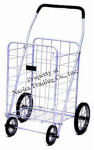 Narita Trading NTC001WH White Jumbo 4-Wheel Folding Shopping Cart